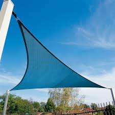 Coolaroo Patio Umbrella by Coolaroo Coolhaven 18 Ft Large Triangle Shade Sail Hayneedle
