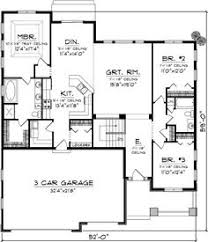 Open Floor Plans For Ranch Homes by Open Concept Floor Plan For Ranch With Spacious Interior Home