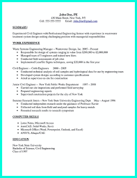 Best Resume Format Network Engineer by There Are So Many Civil Engineering Resume Samples You Can