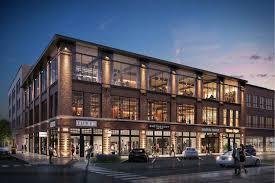 3 story building construction retail lg development