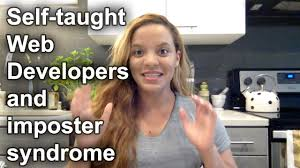 Web Developer Meme - self taught web developers and imposter syndrome youtube