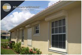aluminum window screen roll motorized hurricane security protection shutters exterior solar