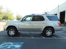 toyota sequoia lifted pics 2005 toyota sequoia limited 4wd 8 seats dvds fresh timing belt lifted