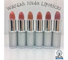 Lipstik Wardah halal cosmetics singapore wardah lipstick 04 caramel