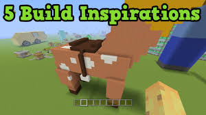minecraft building ideas xbox 360 ps3 youtube