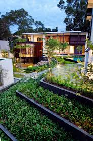 Contemporary Modern House by 19 Best Screen House Contemporary Residence With Wooden Shade
