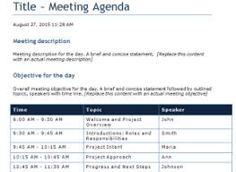 Agenda Templates For Word 2010 | agenda template word compatible concept meeting templates microsoft