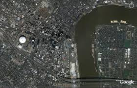 Google Map New Orleans by Carnival Fantasy December 24 29 2007 New Orleans