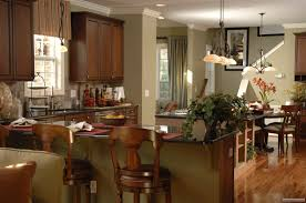 open floor kitchen plans kitchen inspiring dark brown beadboard wainscoting kitchen island