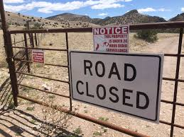 New Mexico Road Conditions Map by New Mexico County Restricts Public Access To Historic Road Krqe