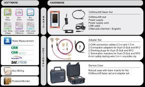 cantouch ruční diagnostický nástroj pro sítě can canopen