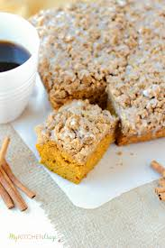 Libbys Pumpkin Muffins Cake Mix by Pumpkin Coffee Cake My Kitchen Craze