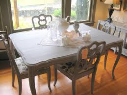 Grey Dining Room Furniture by A Pretty Paris Grey Dining Table And Chairs U2013 Sold Sadie At