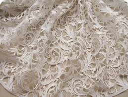 wedding dress fabric items similar to bridal lace fabric crochet lace fabric white