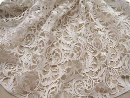 wedding dress fabric items similar to bridal lace fabric crochet lace fabric white