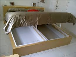ikea bed with storage under mattress ideas u2014 modern storage twin