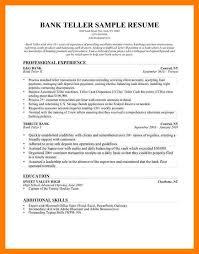 3 bank teller objective resume teller resume