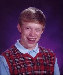 Meme Generator Bad Luck - bad luck brian nerdy blank template imgflip