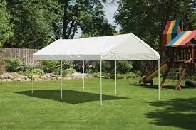 10 X 20 Shade Canopy by Shelterlogic Max Ap 10 Ft W X 20 Ft D Canopy U0026 Reviews Wayfair