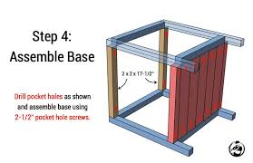 simple side table plans simple square side table free diy plans rogue engineer