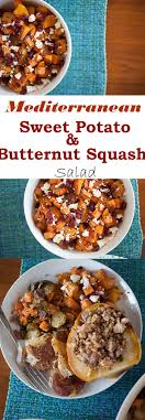 mediterranean butternut squash and sweet potatoes flurries of flour