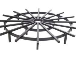 grate for outdoor fire pits fire pit grate etsy