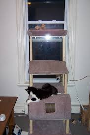 woodwork homemade cat tree plans pdf plans