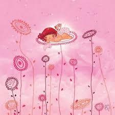 toile chambre bébé fille tableau décoration chambre enfant fille fleurs painting decor