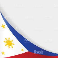 Phippines Flag Philippines Flag Background Vector Illustration Stock Vector Art