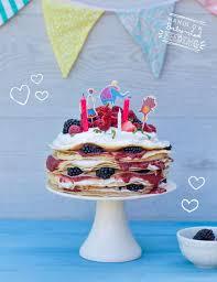 birthday pancake cake baby led feeding