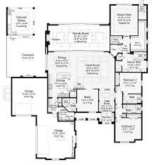 single story open floor plans modern house floor plans single story here plan 7892 4 bedroom open