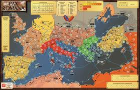 Asia Map Games by Gmt Games Pax Romana