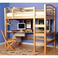 twin study loft bed foter