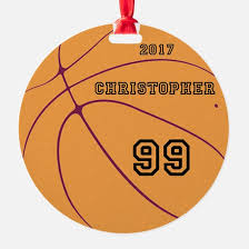 basketball ornament cafepress