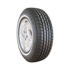 Double White Wall Motorcycle Tires 215 75 15 Whitewall Ebay