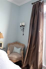 valspar misty sea with silk curtains living room pinterest