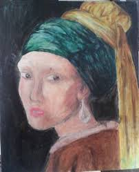 girl with pearl earring painting girl with a pearl earring painting konni