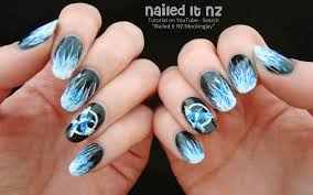 mockingjay nail art tutorial the hunger games