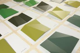 Different Shades Of Green Paint Colour In Changing Daylight Jongeriuslab Design Studio