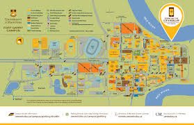 Winnipeg Canada Map by Campus Maps University Of Manitoba