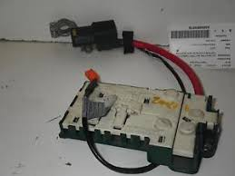 bmw 528i battery 98 02 e39 bmw 528i battery cable junction fuse box 61138367768 ebay