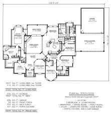 5 bedroom floor plans 1 story 5 bedroom house plans gallery photo showy floor designs b