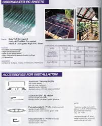 Solasafe Polycarbonate by Corrugated Polycarbonate Roofing Sheet Greenhouse Philippines