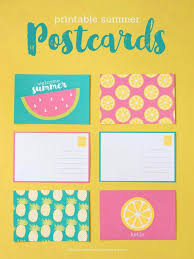 printable postcard template for students sobres tarjetas pinterest