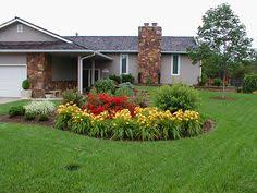 traditional landscape flower bed design pictures remodel decor