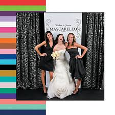 photo booth backdrop personalized scrollwork photo booth backdrop
