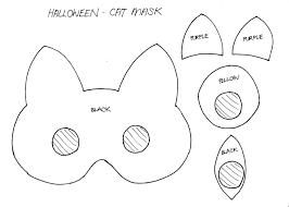 Masks For Halloween Printable Stylenovice Diy Cat Mask Template