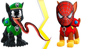 paw patrol venom spiderman coloring pages coloring books