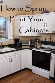 how to spray paint kitchen cabinets beautiful looking 20 cabinet