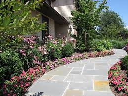 Green Thumb Landscape by Flagstone Walkway Ideas U0026 Pictures Landscaping Network